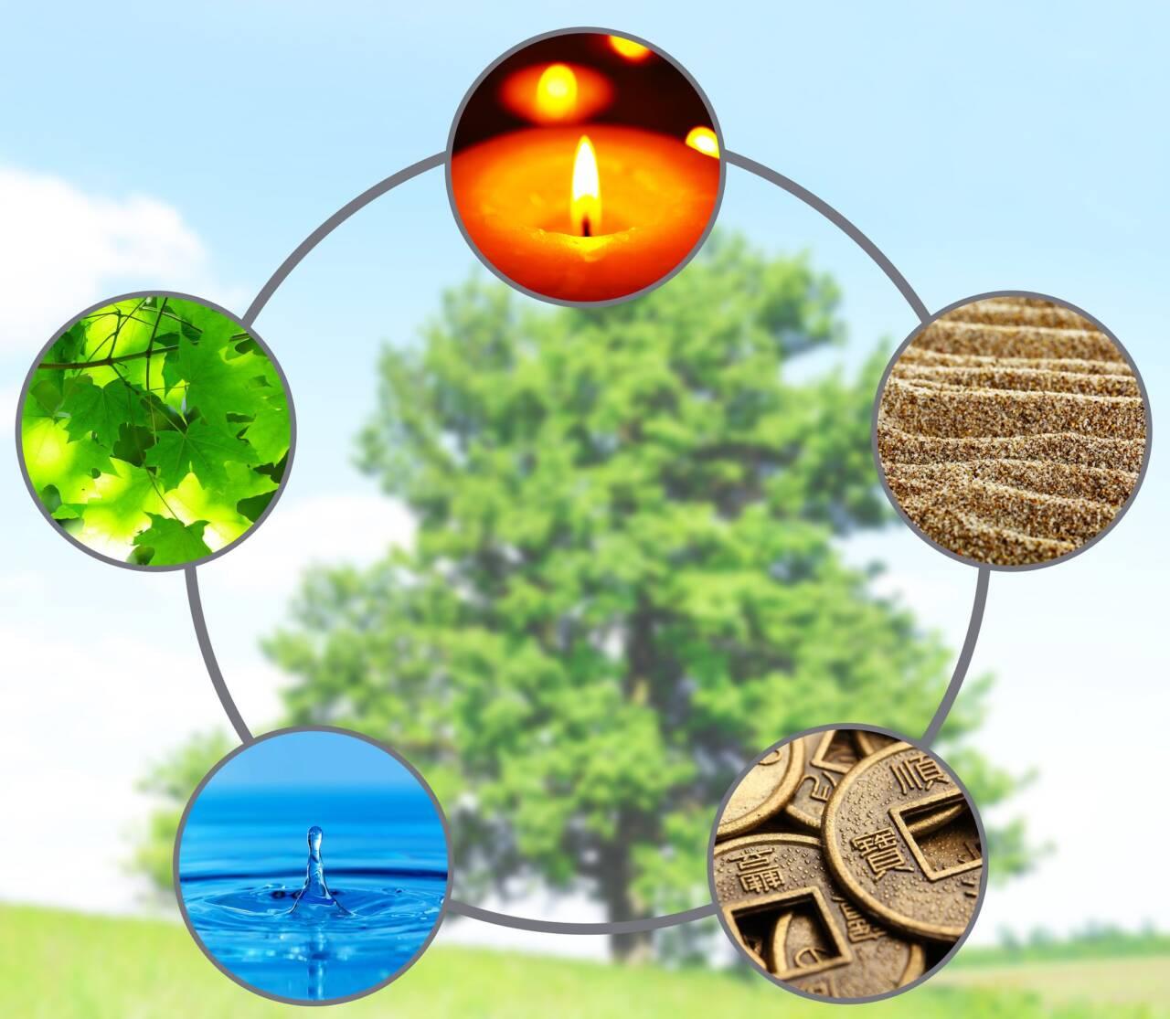 Fem-element i praksis og Meridianmassage